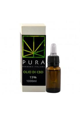 Pura CBD Oil 15 %