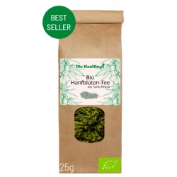 BIO CBD + CBG hemp flower tea - 3.8% CBD -...