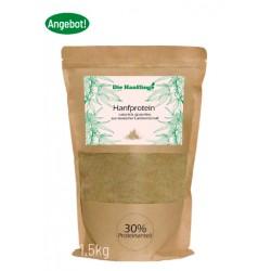 Hanfprotein – Glutenfree – 0,75 kg bzw. 1,5 kg
